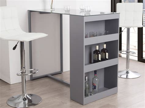 bar cuisine cuisine bar rangement gris perle gascity for