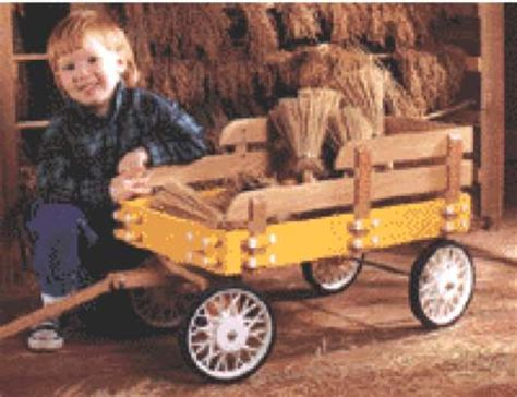 stake wagon woodworking plan woodworkersworkshop