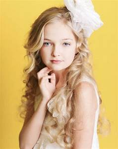 Coiffure Fille Cheveux Mi Long Coupe De Cheveux Enfant Visage Ovale