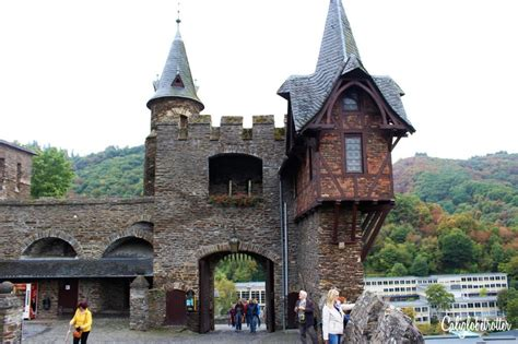 Cochem And The Reichsburg Castle California Globetrotter