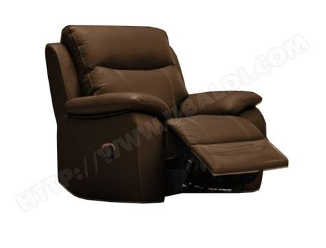canapé relaxant fauteuil relaxation ub design fiona fauteuil relax brun