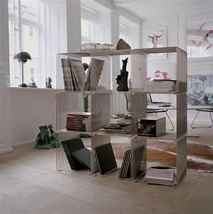 Wire, U2122, Modern, Modular, Book, Shelf, Stacking, Cube, Shelving