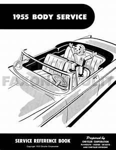 1955 Dodge Car Repair Shop Manual On Cd
