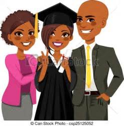 African American Family Clip Art