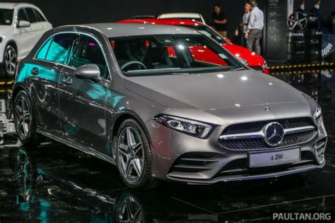 mercedes 2019 malaysia w177 mercedes a class launched in malaysia a200