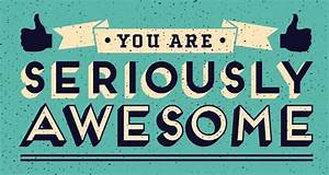 The Weekly Dose... Awesome Thanks Quotes