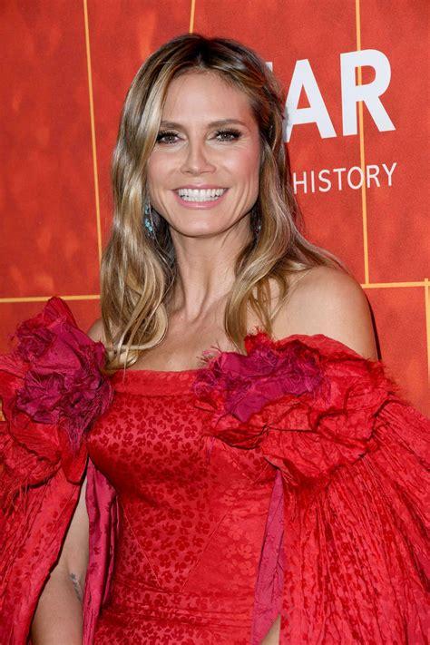 Heidi Klum Amfar Inspiration Gala Beverly Hills