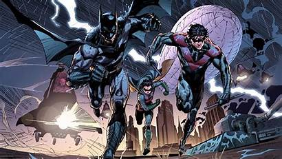 Batman Nightwing Dc Robin Bat Wallpapers Comics
