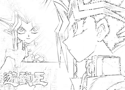 disegni da colorare di yu gi oh immagini da colorare di yu gi oh topmanga anime e