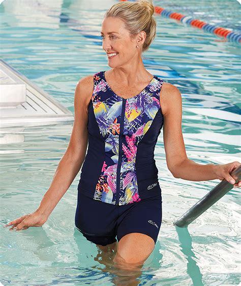 chlorine resistant swimsuits swimwear  aquatic exercise swimwear  ho wear
