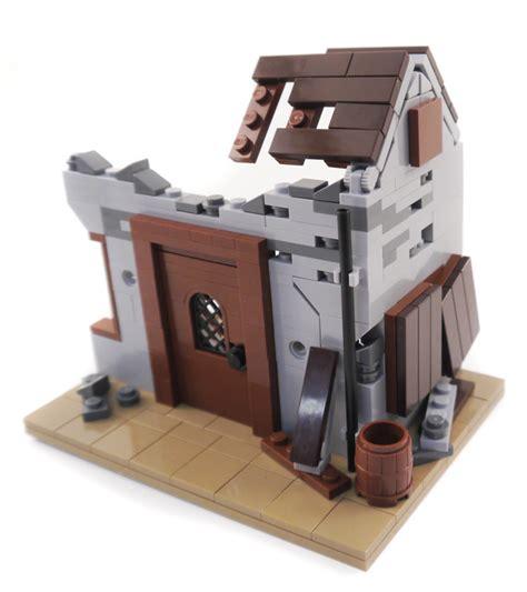 lego ww2 ruined instructions custom barn wwii army village building buildings castle creations brick war military modular amazing google models