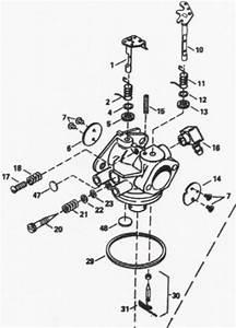 Tecumseh 8 Hp Carburetor Diagram