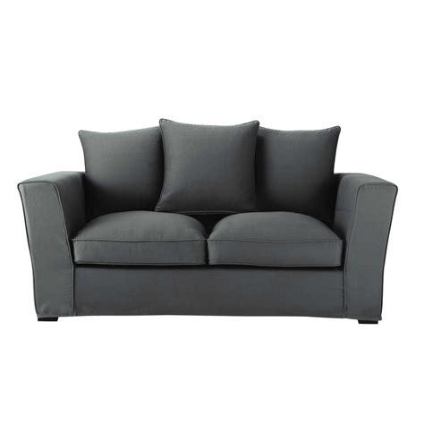 teindre un canapé en tissu non déhoussable canapé 2 3 places en tissu gris ardoise balthazar