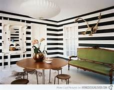 Striped Wall Accents In 15 Dining Room Designs Home Design Lover Interior Design Unique Wall Art Drawer Black Flower Of Mural On White Color Wall Painting Designs Butterfly Flower Vinyl Wall Art Decals Wall Stickers Vinyl Wall