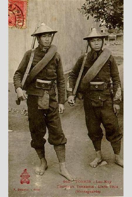 Tirailleurs Tonkinois Linhs Thos (Montagnards)