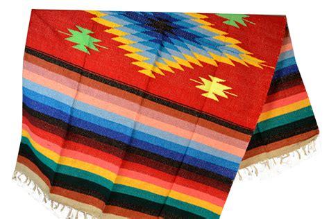 Eeezz0dgred30  Mexikanische Indianer Decke