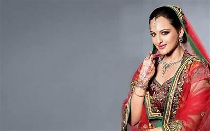 Bollywood Actress Wallpapers Sonakshi Sinha Hindi Saree