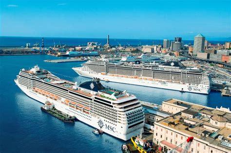 Cabina Di Comando Nave Genova Da Record Per Msc Crociere 22 Navi E 83 Mila