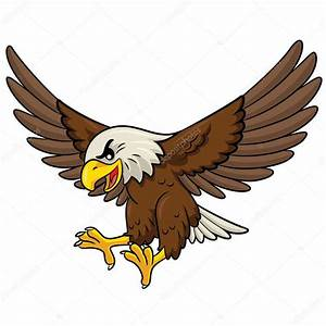 Eagle Cartoon — Stock Vector © rubynurbaidi #49617961