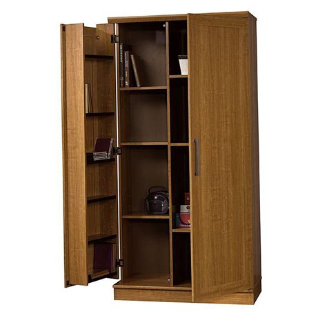 sauder homeplus dakota oak storage cabinet sauder homeplus storage cabinet dakota oak finish home