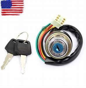 Ignition Switch Key Kazuma Meerkat 50cc Falcon 90cc 110cc 250cc Redcat Atv 70cc