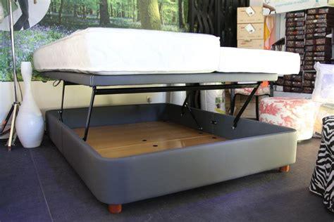 canapé convertible coffre lit sommier coffre relevable doux smart bed