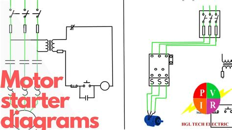 An Schematic 3 Wire Wiring Diagram by Motor Starter Diagram Start Stop 3 Wire Starting