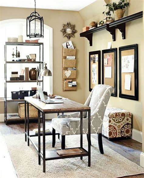decor bureau beige wall color with antique wrought iron chandelier and