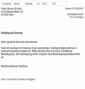 Yello Strom Rechnung Einsehen : k ndigungsschreiben yello strom ausf llen und abschicken ~ Themetempest.com Abrechnung