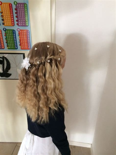 communie kapsel hair pinterest