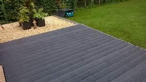 Terrasse Wpc Grau : kunststoff dielen terrasse in dunkel grau kalamo ~ Markanthonyermac.com Haus und Dekorationen
