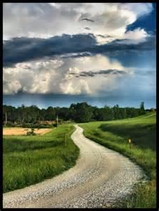 Nebraska Country Road