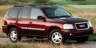 gmc envoy page  review  car connection