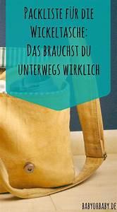 Baby Erstausstattung Liste Winter : packliste f r die wickeltasche das brauchst du unterwegs wirklich ~ Eleganceandgraceweddings.com Haus und Dekorationen