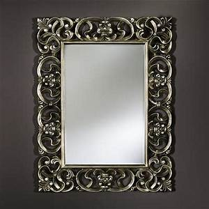 Miroir Baroque Argenté : miroir baroque argent deknudt miroirs usi maison ~ Teatrodelosmanantiales.com Idées de Décoration