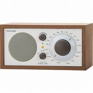 Tivoli Model One AMFM Table Radio Beige Walnut M1CLA BH