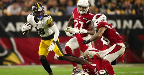 diontae johnsons masterful route running suggests  star