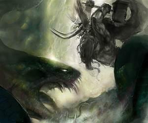 Download Thor Serpent Wallpaper 1414x1170   Wallpoper #328564