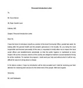 Personal Letter Format Template