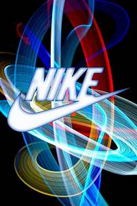 Nike Logo - Color Light Beams Swoosh | Nike | Pinterest ...