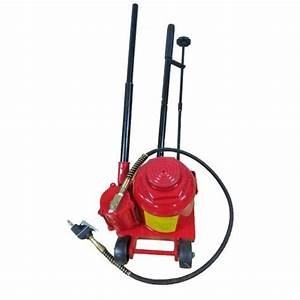 Air Hydraulic Bottle Jack 50 Ton Manual 100000lb Heavy