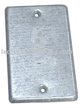 electrical junction box cover 4 quot x2 1 8 quot rectangle box cover metal junction box g i box 7040