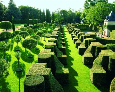 Gartengestaltung In Französischem Stil