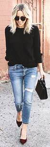 17 Best ideas about Skinny Jeans Heels on Pinterest | Skinny jean outfits Ankle boot outfits ...