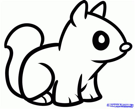 cute easy drawings  animals   draw animal litle pups