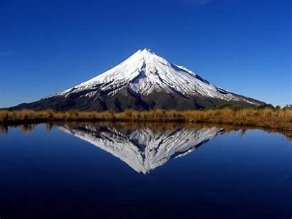 Taranaki Mount Zealand Mountains Volcano Island North