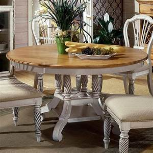 Hillsdale, Furniture, Wilshire, Pine, Wood, Round, Extending, Dining, Table, At, Lowes, Com