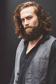 Men with Beards Long Hair Styles