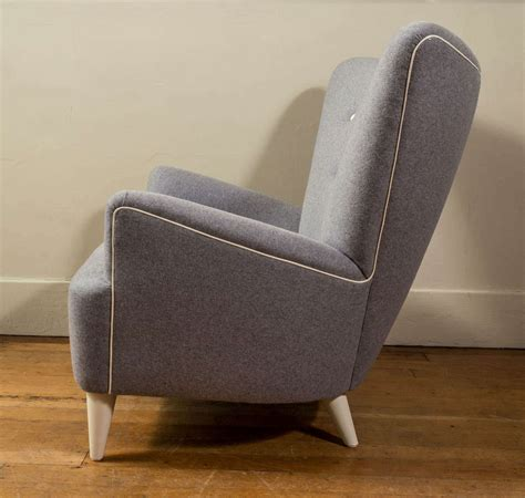 Made Armchairs by Custom Made Mid Century Style Armchair At 1stdibs