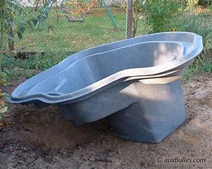 Bassin Exterieur Preforme : bassin de jardin de la conception la r alisation ~ Premium-room.com Idées de Décoration
